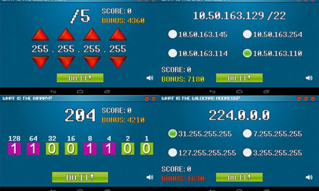 Binary Blitz Android App – Become a subnetting Jedi and have fun at the same time!
