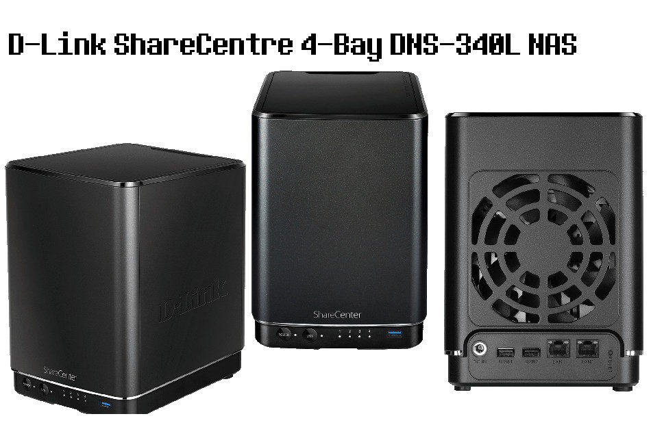 Review – D-Link ShareCentre 4-Bay DNS-340L NAS