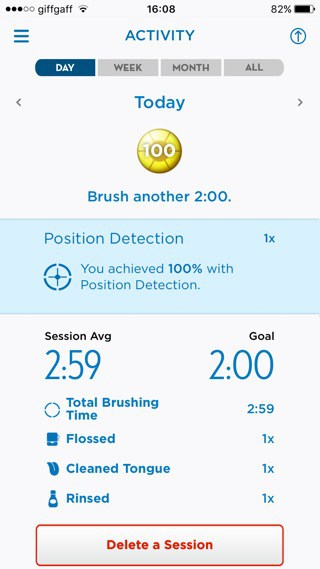 Oral B Genius 9000 Toothbrush App