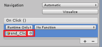 Unity 101 : Playing a sound when a UI button is pressed